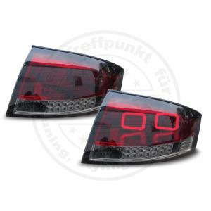 2 jom led r ckleuchten lightbar r cklichter rot schwarz. Black Bedroom Furniture Sets. Home Design Ideas