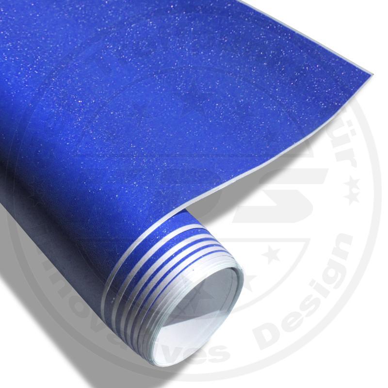 uv premium auto folie blau diamant metallic klebefolie. Black Bedroom Furniture Sets. Home Design Ideas