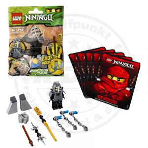 lego ninjago 9551 kendo cole booster pack ninja figur. Black Bedroom Furniture Sets. Home Design Ideas