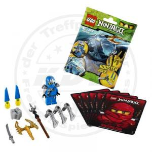 lego ninjago 9553 jay zx booster pack ninja figur waffen. Black Bedroom Furniture Sets. Home Design Ideas