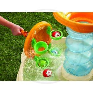 little tikes kinder wassertisch spieltisch sandkasten wasserspielzeug figuren ebay. Black Bedroom Furniture Sets. Home Design Ideas