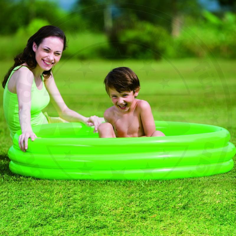 kinder planschbecken gr n 183x33 swimming pool kinderpool neu ebay. Black Bedroom Furniture Sets. Home Design Ideas