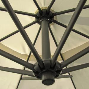 ampelschirm gartenschirm sonnenschirm mit kurbel schirm marktschirm metall holz ebay. Black Bedroom Furniture Sets. Home Design Ideas