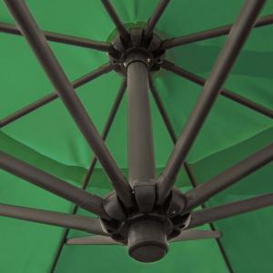 gro er metall ampelschirm gartenschirm gr n 3 5 m meter. Black Bedroom Furniture Sets. Home Design Ideas