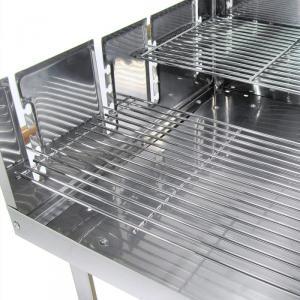 profi xxl edelstahl holzkohlegrill grill gartengrill standgrill grillwagen neu ebay. Black Bedroom Furniture Sets. Home Design Ideas