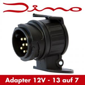 dino raid hp anh nger adapter anh ngerstecker 13 auf 7 polig steckdose stecker. Black Bedroom Furniture Sets. Home Design Ideas
