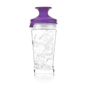 vacu vin glas design cocktail shaker bar mixer set mit lila popsome verschlu. Black Bedroom Furniture Sets. Home Design Ideas