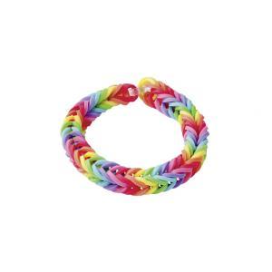 Rainbow loom starter set box webrahmen f r armb nder mit 600 bands 24 clips ebay - Wasserrutsche fur pool ...