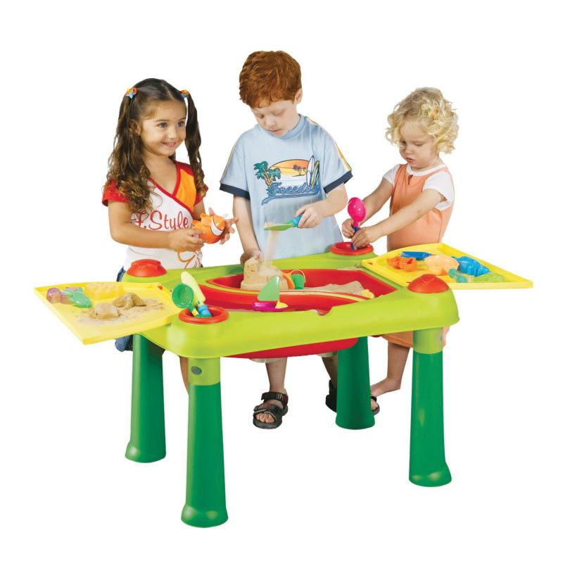 keter kinder wassertisch spieltisch sandkasten. Black Bedroom Furniture Sets. Home Design Ideas