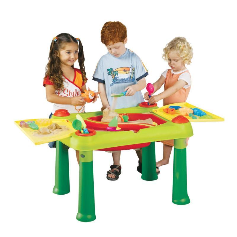 keter kinder wassertisch spieltisch sandkasten wasserspielzeug garten spielzeug. Black Bedroom Furniture Sets. Home Design Ideas