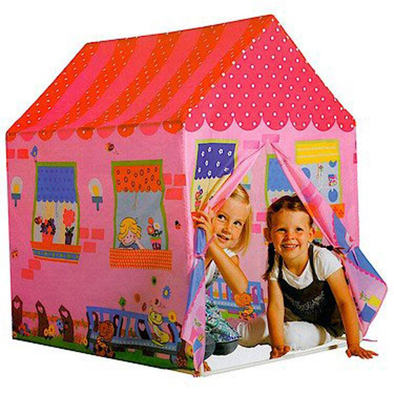spielzelt spielhaus kinder popup zelt garten spiel haus abenteuerzelt ebay. Black Bedroom Furniture Sets. Home Design Ideas