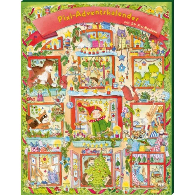 Kinder adventskalender kalender mit figuren tiere