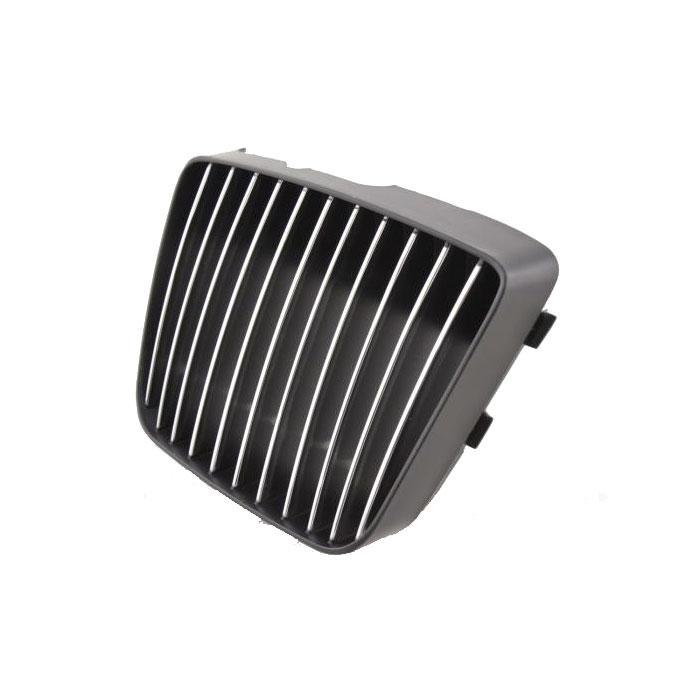 Kuehlergrill-Seat-Cordoba-chrom-schwarz-Sportgrill-Front-Grill-ohne-Emble-Logo